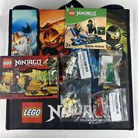 LEGO Ninjago Lot Battle Arena/Carrying Case 2516 Outpost 4 Mini Figures