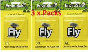 9x Envirosafe Fly & Wasp Attractant Refill Sachets for Fly&Wasp Trap Station