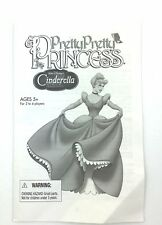 Pretty Pretty Princess Replacement Part Instruction Guide Cinderella Disney 2005