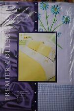 Embellished bedding set - Premier collection - single bed - embroidered - new