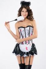 Costume déguisement femme soubrette servante maid zombie HALLOWEEN