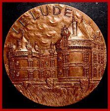 FRANCE / Le Lude/ Castle/ Château du Lude/ Pays-de-la-Loire / BRONZE MEDAL M32