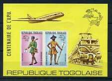 TOGO - 1974, Bloc aérien 77, Facteurs, UPU, neuf**