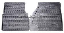Land Rover Defender 90 110 Rubber Floor Mat Mats Front Pair Genuine Factory OEM