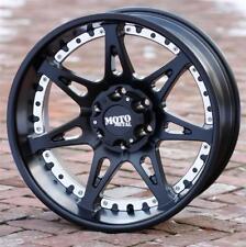 18x9 Black wheels rims MOTO METAL 961 Toyota Tundra 2007-2018 5x150 +18mm