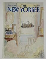 COVER ONLY ~ The New Yorker Magazine, September 22, 1980 ~ J. J. Sempe