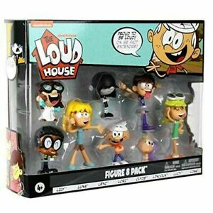 The Loud House Action Figures Lincoln Clyde Lori Lily Luna Leni The Lucy Lisa