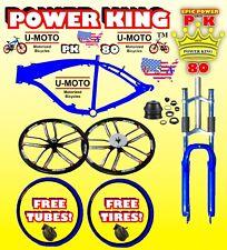 New 2-Stroke 48cc/66cc/80cc Frame Fork Wheel Kit Only For Motorized Bike Bicycle