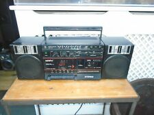 Saisho boombox Radio cassette P212 with detachable speakers