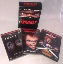 The Chucky Collection Bride of; Child's Play 2 & 3 (DVD, 2003, 3-Disc Set) New!
