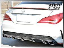 Mercedes-Benz W117 C117 CLA45 Only Carbon Fiber Rear Bumper Diffuser Add-on Lip