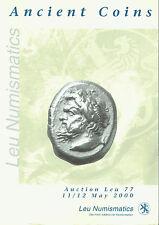 ANCIENT COINS  - LEU NUMISMATICS - MONNAIE Greek, Roman Byzantine - AUCTION LEU