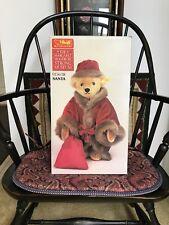Vintage Steiff Santa Bear  Margaret Woodbury Strong Museum Original Box