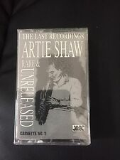 The Last Recordings of Artie Shaw: Rare and Unleashed