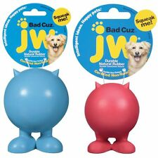 Jw Pet Bad Cuz Rubber Toy Free Shipping Color Vary