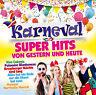 CD Karneval Super Hits von Gerstern und Heute von Various Artists 2CDs