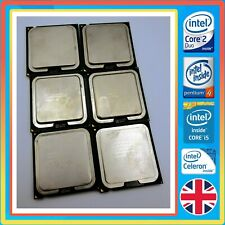 Intel CPU's - i3 i5 Pentium Core 2 Duo Celeron & More, Tested & Working.