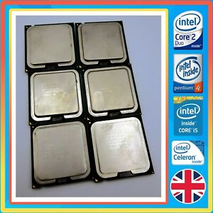 Intel CPU's - i3 i5 Pentium Core 2 Duo Celeron & More, Tested & Working.