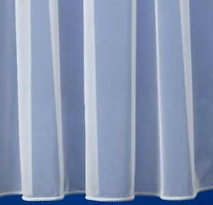 Best Selling Net Curtain Whole Roll up to 35m - Plain Designs - UK seller