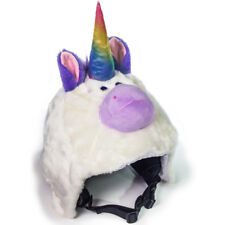 CrazeeHeads Plush Angel The Unicorn Cool Bike Snowboard Ski Helmet Cover