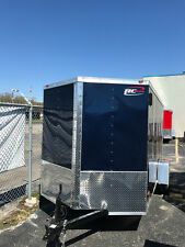 NEW 6X12 ENCLOSED CARGO TRAILER WITH RAMP AND V-NOSE 2018 MODEL LED SPECIAL!!!!!
