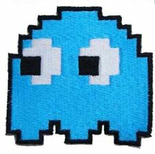 GHOST BLUE iron on/sew on Embroidered Patch Applique DIY (US Seller) game gaming