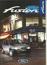 FORD FIESTA FUSION SPECIAL EDITION SALES BROCHURE MAY 1997