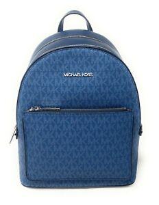 Michael Kors Adina Medium Backpack Pebbled PVC Leather $398