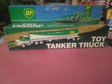 BP-Toy Tanker Truck-Dual Sound, Real Head & Tail Lights NIB