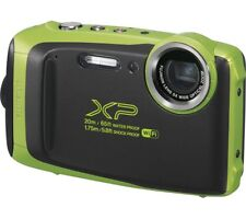 FUJIFILM XP130 Tough Compact Camera - Lime - Currys