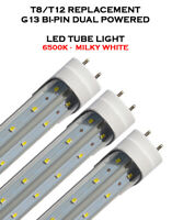 T8 G13 4 FEET 24W V Shaped Enhanced 6500K CLEAR LENS LED REPLACEMENT TUBE LIGHT