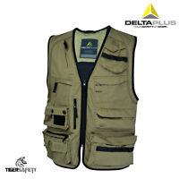 Delta Plus Panoply MSGIL Mach Spring Mens Work Vest Gilet Bodywarmer Tool Vest