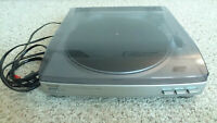 AIWA PX-E860 Automatic Turntable System Stereo Record Player Works Replaced Belt