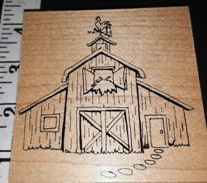 Farmers barn,unknown maker,,C17,rubber, wood