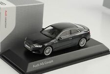 Audi A5 coupe manhattan grey 2016 diecast 1:43  iScale Dealer