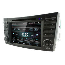 "7"" Car Radio DVD GPS SatNav Stereo Headunit for MERCEDES Benz E-W211 CLS W219"