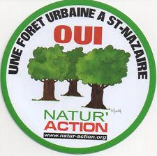 sticker french environmental association NATUR-ACTION - foret nature (lot de 2)