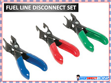 3 Piece Fuel Line Uncoupling Disconnect Pliers Garage Removal Tool Set CT1950