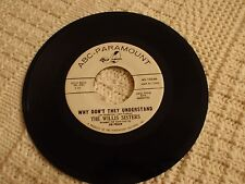 TEEN THE WILLIS SISTERS WHY DON'T THEY UNDERSTAND/MY PREPOSITION BABY ABC M-