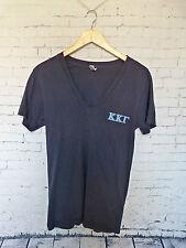 Kappa Kappa Gamma USD Sorority Recruitment 2013 Blue V Neck Shirt Size S