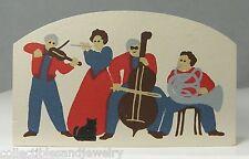 Amish Concert Musical Quartet Cat's Meow Village Collectible Accessory 187 Nos