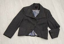 BNWOT ladies 'NEXT' Cropped Jacket size 12 (Equestrian Look) with Wool
