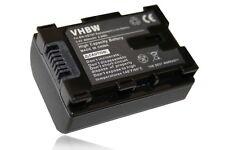 VHBW BATTERIA 800mAh infochip per JVC Everio GZ-E205BEU, GZ-E209, GZ-E209BEU