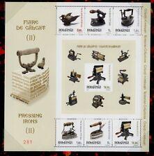 Rumanía Romania 2012 Hist. plancha pressing Iron bloque en el Folder tirada 500