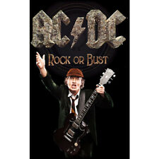 AC/DC- ROCK OR BUST ANGUS Official Textile Poster Licensed Merch 105cm X 65cm