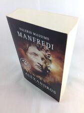 Valerio Massimo MANFREDI Alèxandros La trilogia Mondadori 1 Ed 2012