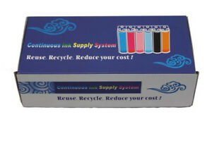 Continuous Ink Supply System Cartridge, Epson SX218 Printer CISS for Sublimation
