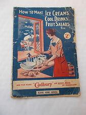 How To Make Ice creams, Cool Drinks, Fruit Salads etc - Aldine Home Series