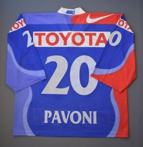 Pavoni Kloten Flyers Switzerland Jersey XL Mens Shirt Trikot Ice Hockey ig93