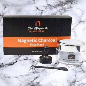 The Magmask - Magnetic Charcoal Face Mask || All Natural, Vegan, Paraben-Free ||